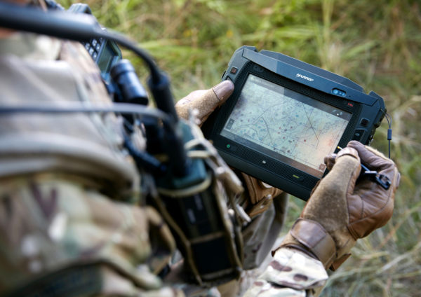 harris tablet military using