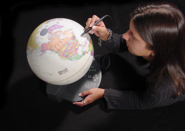 odyssey globe product design