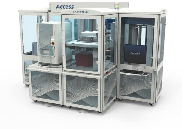 Labcyte access industrial design and engineered device