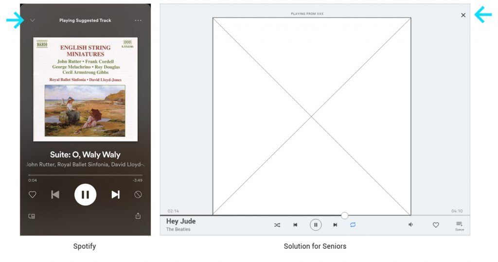 Senior UX UI design