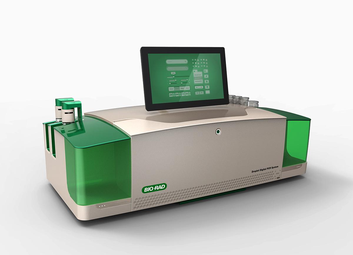 conceptual design of biorad QX One