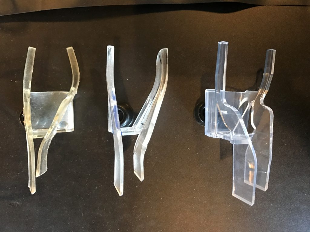 Clear light pipe design