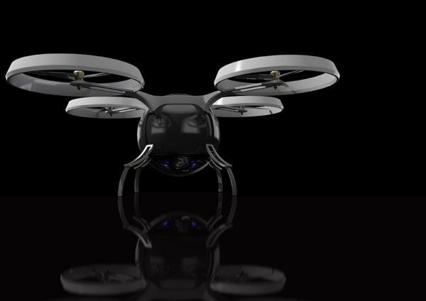 drone design rendering