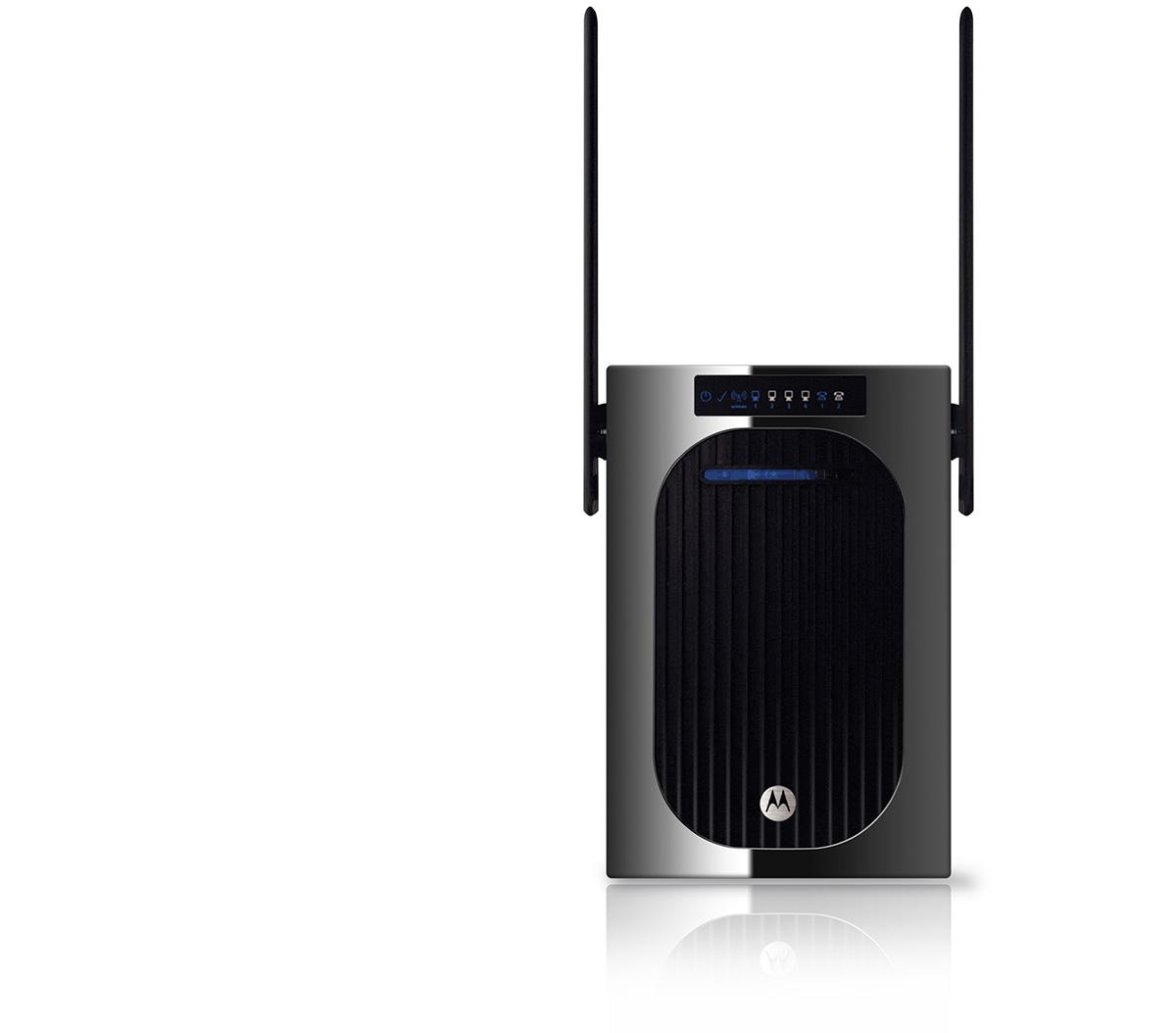 motorola router product design