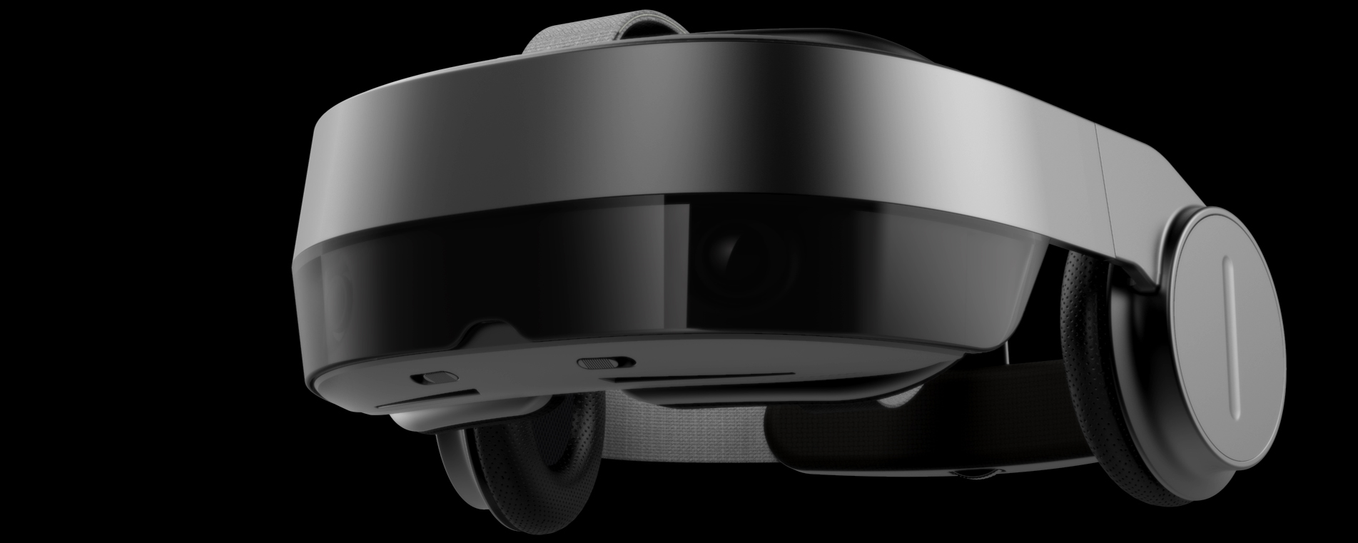 Virtual reality goggles industrial design rendering